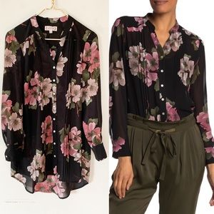Nanette Lenore Floral Button Down Shirt